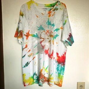 Eddie Bauer Legend Wash Tie Dye Shirt XL